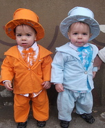 Baby Dumb and Dumber Costume Idea for Babies