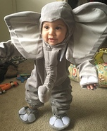 Cute Baby Elephant Costume