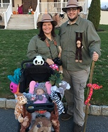 Baby Elephant and the Safari Homemade Costume