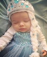 Baby Elsa Frozen Queen Homemade Costume
