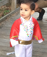Halloween Baby Elvis Costume