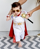 Baby Elvis Homemade Costume