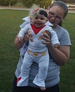 Baby Elvis Presley Homemade Costume