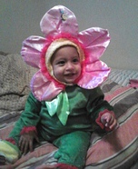 Flower Blossom Homemade Costume