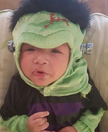 Baby Frankenstein Halloween Costume Idea