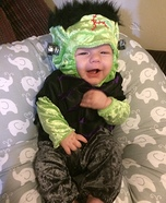 Baby Frankenstein Halloween Costume