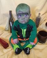 Baby Frankenstein Homemade Costume