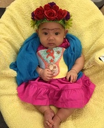 Baby Frida Kahlo Costume DIY