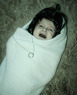 Baby Frodo Spun in Web Homemade Costume