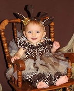 Baby Giraffe Homemade Costume