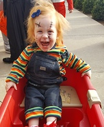 Baby Girl Chucky Homemade Costume