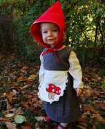 Baby Girl Gnome Homemade Costume