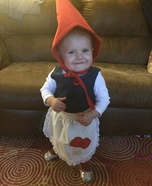 Baby Gnome Homemade Costume