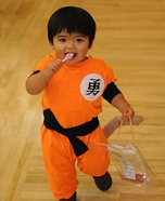 Baby Goku Homemade Costume