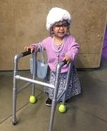 DIY Baby Grandma Costume