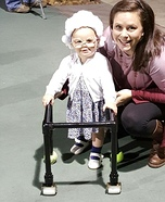 Baby Grandmother Homemade Costume