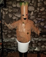 Baby Groot Homemade Costume