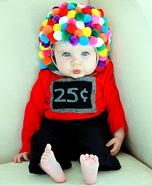 Gumball Machine Baby Costume