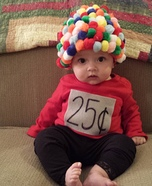 Baby Gumball Machine Costume DIY