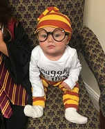 Baby Harry Potter Homemade Costume