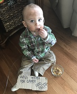 Baby Hobo Homemade Costume
