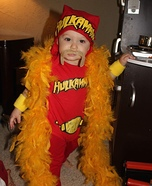 Baby Hogan Homemade Costume