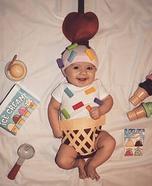 Baby Ice Cream Cone Homemade Costume