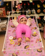Baby in a Crib DIY Halloween Costume
