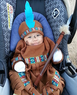 Baby Indian Homemade Costume