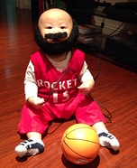 Baby James Harden Homemade Costume
