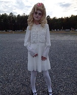 Baby Jane Hudson Doll Homemade Costume