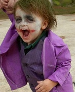 Baby Joker Homemade Costume