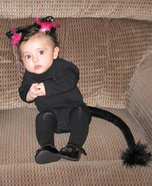 Baby Kitty Homemade Costume