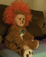 Baby Lion Homemade Costume