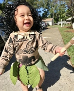 Baby Maui Homemade Costume