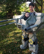Parent and baby costume ideas - Baby Mech Costume