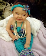 Baby Mermaid Homemade Costume