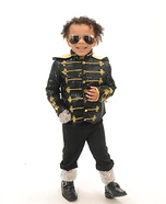 Baby MJ Homemade Costume