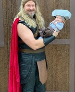 Baby Mjolnir and Thor Costume