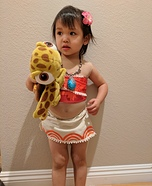 Baby Moana Homemade Costume