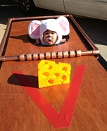 Baby Mouse in a Mousetrap Costume