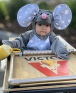 Baby Mousetrap Homemade Costume
