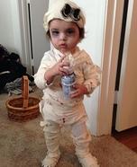 Baby Mummy Homemade Costume