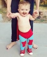 Baby Nacho Libre Homemade Costume