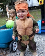 Baby Ninja Turtle Homemade Costume