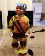 Baby Ninja Turtle Leonardo Costume
