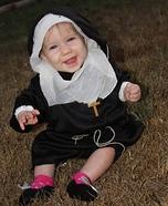 Baby Nun Homemade Costume