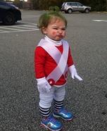 Baby Oompa Loompa Homemade Costume