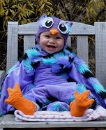Baby Owl Homemade Costume
