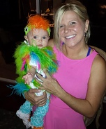 Baby Parrot Homemade Costume